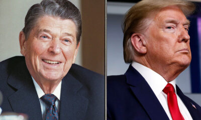 Picture of Ronald Reagan and Donald Trump